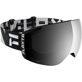Flaxta Episode Goggles black/white stripes